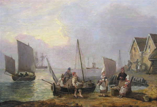 Thomas Luny painting values sell artist Robert Perera Fine Art Ltd