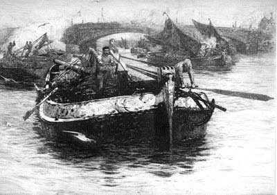 WL Wyllie Rochester etching Portsmouth artist Robert Perera Fine Art