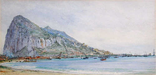 William Lionel Wyllie-gibraltar sell artist Robert Perera Fine Art Ltd