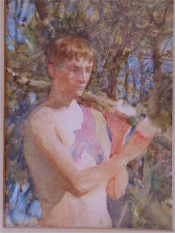 Sell Henry Scott Tuke Nude Cornish artist - Robert Perera Fine Art Ltd