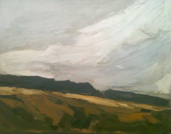 Value Kyffin Williams oil sell artist Robert Perera Fine Art Ltd