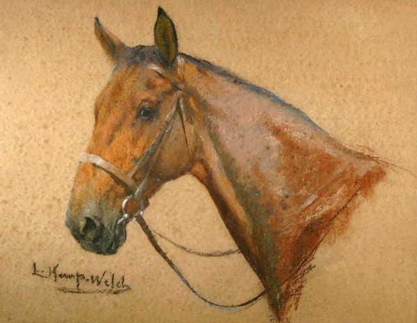Sell Lucy Kemp-Welch appraisal Racehorse sell artist Robert Perera Fine Art