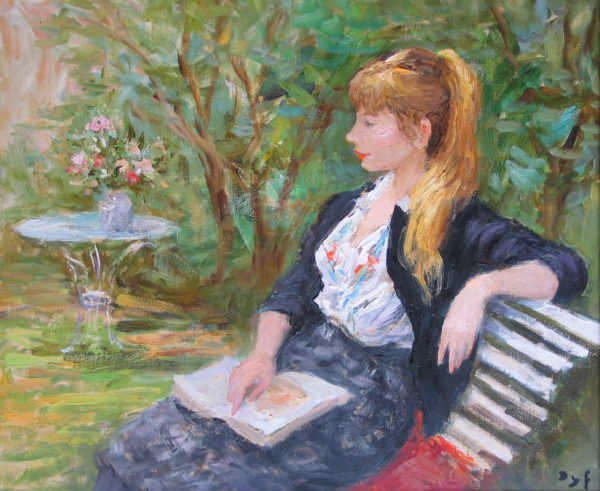 Marcel Dyf Claudine French artist - Robert Perera Fine Art Ltd.