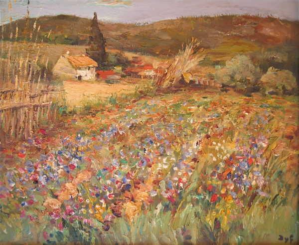 Marcel Dyf Flowers French artist appraisal- Robert Perera Fine Art Ltd.