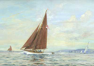 Rowland Langmaid oil painting valuation wanted sell artist Robert Perera Fine Art Ltd