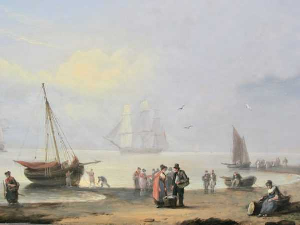 Thomas Luny appraisal sell artist Robert Perera Fine Art Ltd
