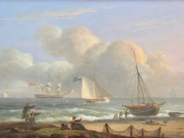 Thomas Luny valuation sell artist Robert Perera Fine Art Ltd