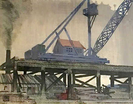 Sell Ethel Spowers Timber Crane Robert Perera