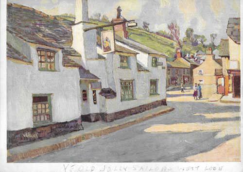 John Anthony Park vintage paper print not an original painting - Robert Perera Fine Art