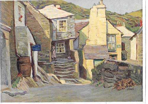 John Anthony Park vintage paper print - Robert Perera Fine Art
