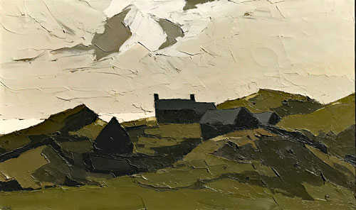 Kyffin Williams Painting Value - Robert Perera Fine Art