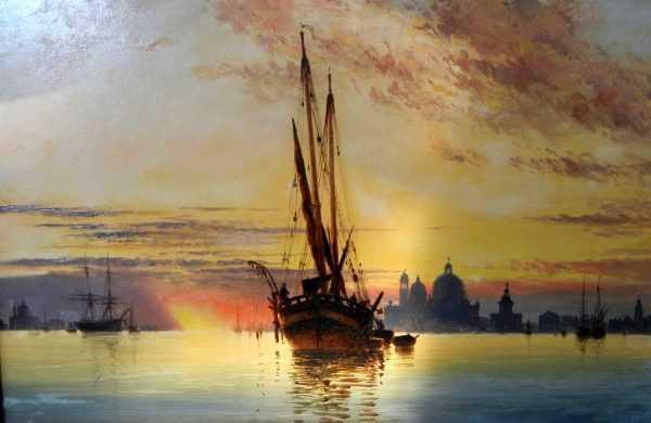 Edward William Venice Valuation - Robert Perera Fine Art