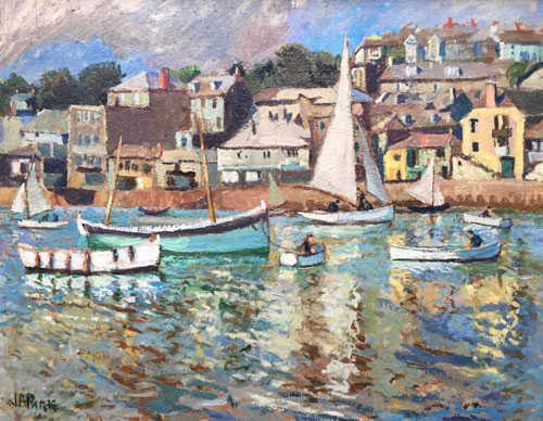 John Anthony Park J.A.Park auction value Robert Perera Fine Art