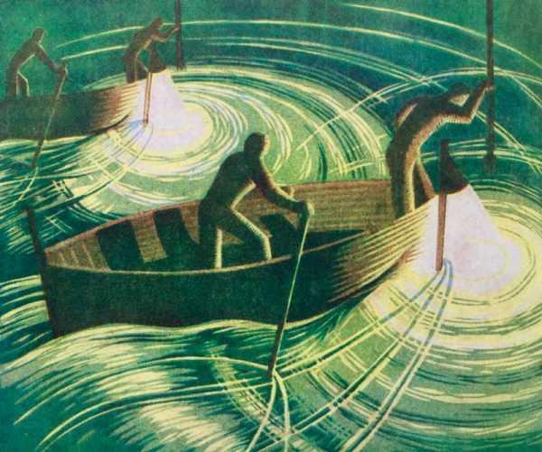 Dell Margaret Barnard Linocut prints valuation Robert Perea Fine Art Ltd.