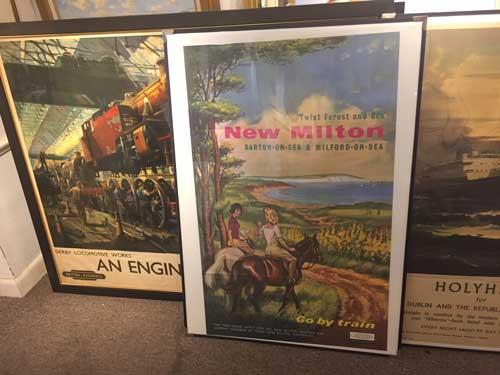 Original Vintage Railway Posters Values Perera