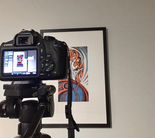 Best way to photograph artwork and value art at Robert Perera Fine Art