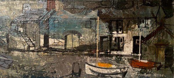 Hammond Steel Cornish artist paintings wanted valuation , price, auction value at Robert Perera Fine Art Ltd.